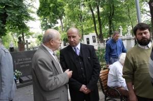 Alexandru Mosanu cu Alexandru Moraru 2009