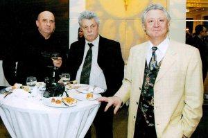 Cu Maestrul Vasile Iovu si Vasile Soimaru 29 noiembrie 2009