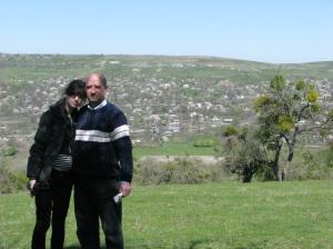 Cu Tati la Temeleuti Calarasi 2009 mai