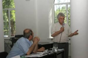 Vasile Soimaru la lansarea cartii Garda