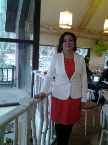 Maria Botnaru după filmări la JurnalTV
